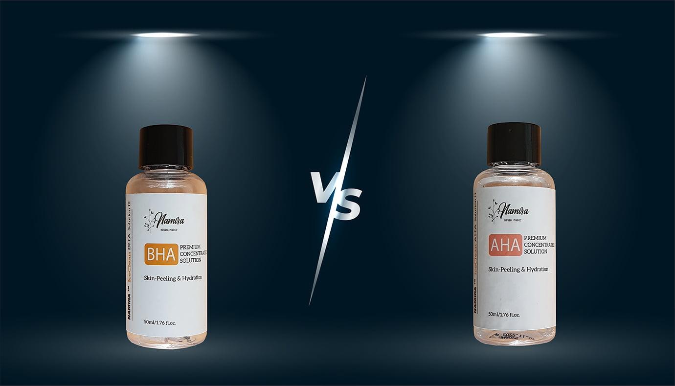 AHA và BHA sử dụng trong liệu trình peel da