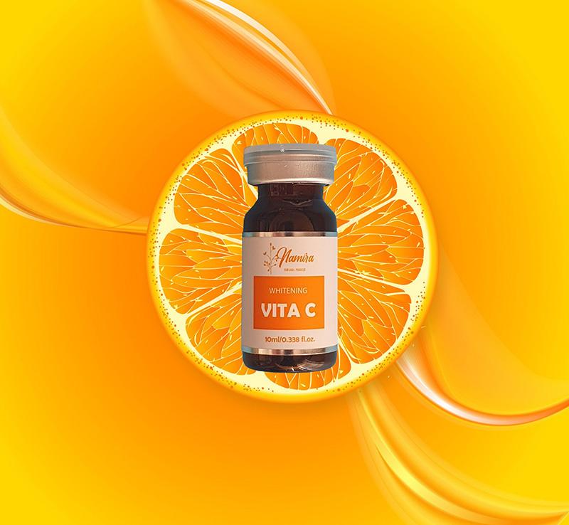tinh chất vita c giúp giảm thâm mụn hiệu quả
