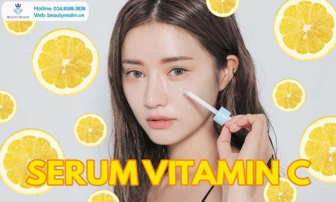 Tinh chất làm trắng Vita C