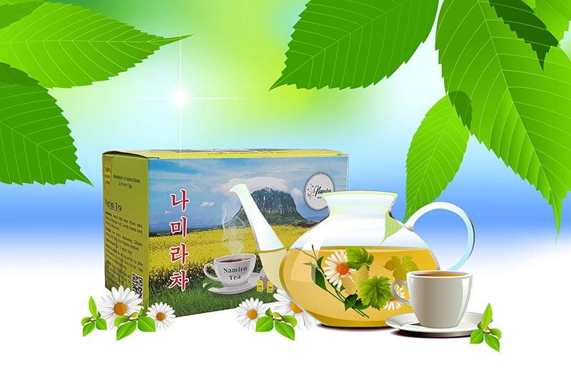 Sản phẩm trị mụn trà Namira