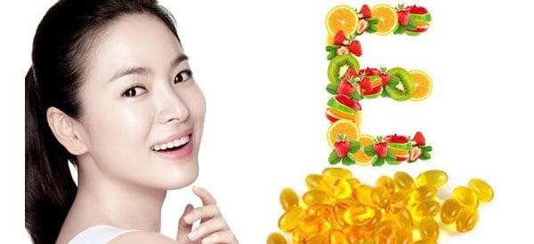 Cách trị mụn thâm bằng Vitamin E