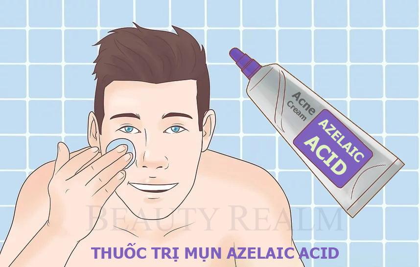 Thuốc trị mụn Azelaic Acid