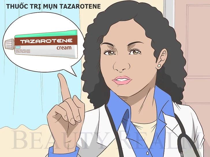 Thuốc trị mụn Tazarotene
