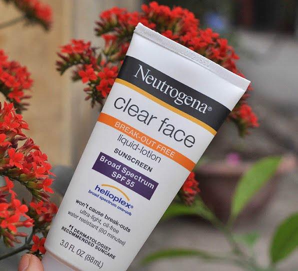 Kem chống nắng cho da mụn Netrogena