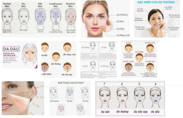 Các loại da mặt