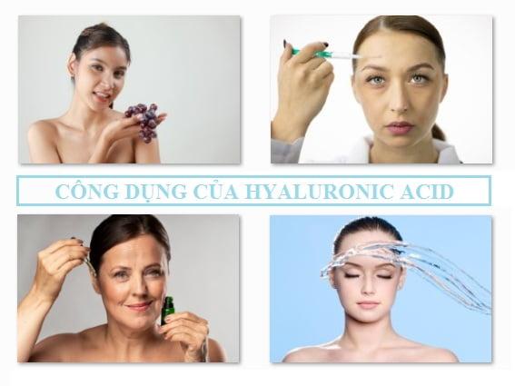 công dụng của Hyaluronic Acid