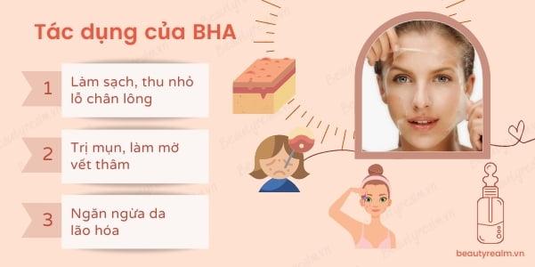Tác dụng của BHA